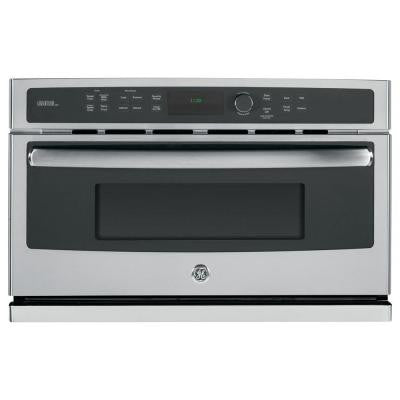 Profile Advantium 30 in. Electric Wall Oven with Speed Cook and Convection in Stainless Steel