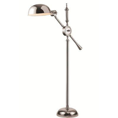 Vintage Task 63 in. Chrome Floor Lamp