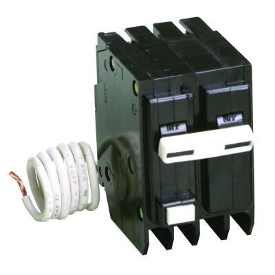 30 Amp Type BR 2-Pole GFCI Breaker with Self-Test