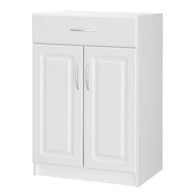 Select 2-Door Base Cabinet with Drawer in White