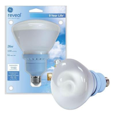 90W Equivalent Reveal (2500K) BR40 Compact Fluorescent Flood Light Bulb