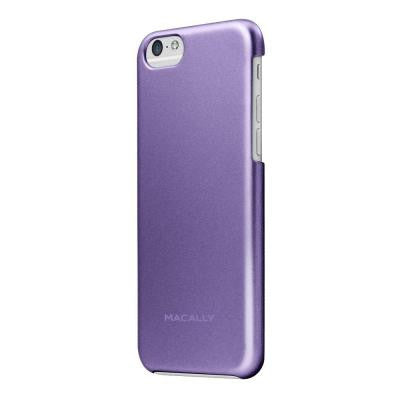 Metallic Snap-On Case Designed for the iPhone 6 - Purple