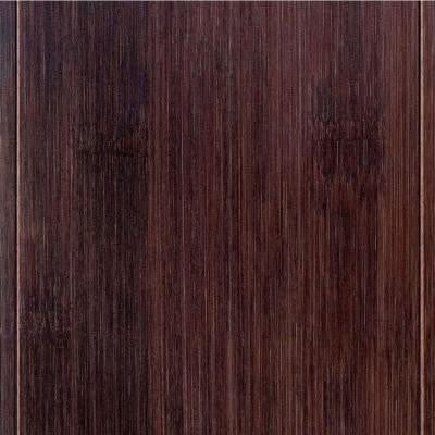 Hand Scraped Horizontal Walnut 9/16 in.T x 4-3/4 in.W x 47-1/4 in.Length Engineered Bamboo Flooring (24.94 sq. ft./case)