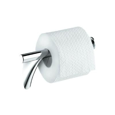 Massaud Double Post Toilet Paper Holder in Chrome