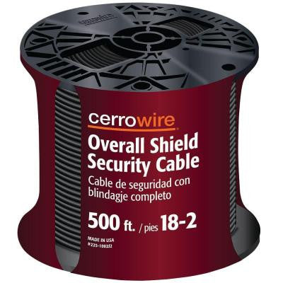 500 ft. 18/2 Security Alarm Cable