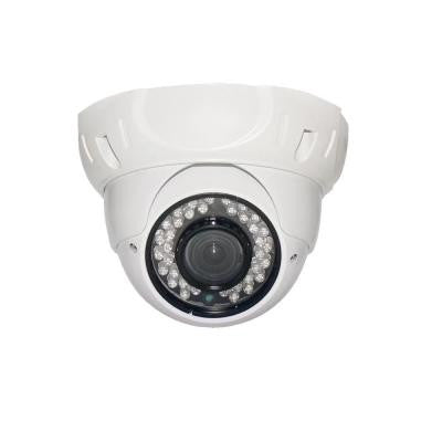Wired Indoor/Outdoor Sony CCD Outdoor IR Vandal Proof Dome Camera with 700TVL and 3.6 mm Lens