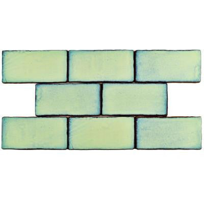 Antic Special Agua Marina 3 in. x 6 in. Ceramic Wall Tile (1 sq. ft. / pack)