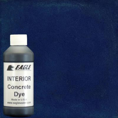 1-gal. Blue Berry Interior Concrete Dye Stain Makes with Water from 8 oz. Concentrate