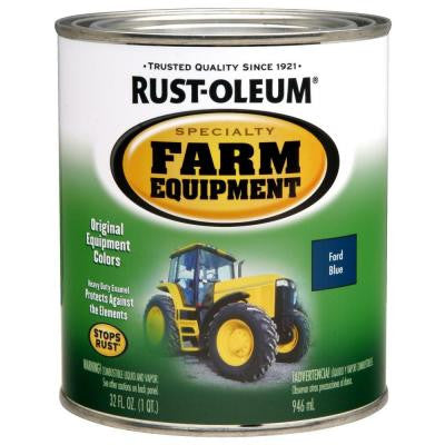 1-qt. Ford Blue Gloss Farm Equipment Paint (Case of 2)