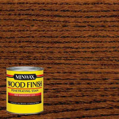 1 qt. Wood Finish Red Mahogany Oil-Based Interior Stain
