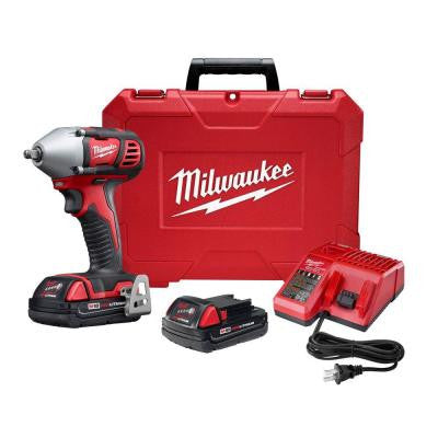 M18 18-Volt Lithium-Ion Cordless 3/8 in. Impact Wrench Kit