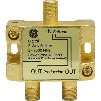 2-Way 2500MHz Coax Splitter