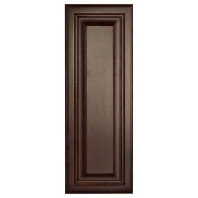 10x27.375x0.625 in. Cambria Decorative End Panel in Java