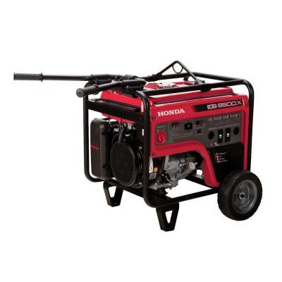 6500-Watt Gasoline Portable Generator with GFCI Outlet Protection and iGX OHV Commercial Engine