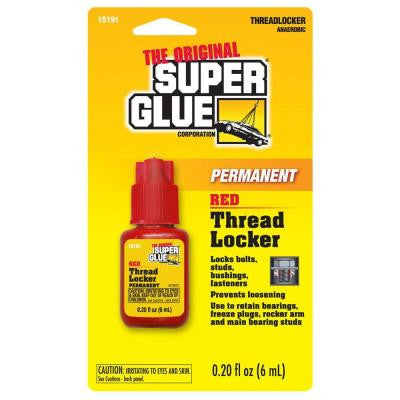 6 ml Permanent Red Thread Locker