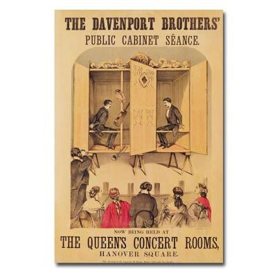 47 in. x 30 in. The Davenport Brothers 1865 Canvas Art