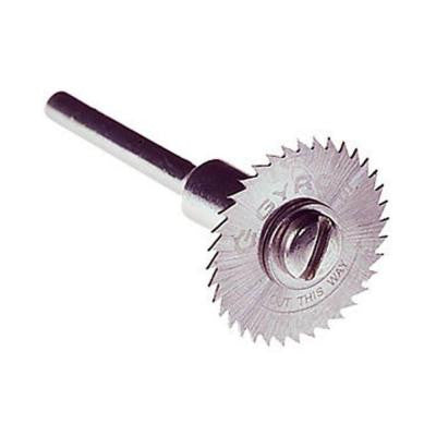 3/4 in. Diameter Coarse Teeth Saw Blade with Mandrel