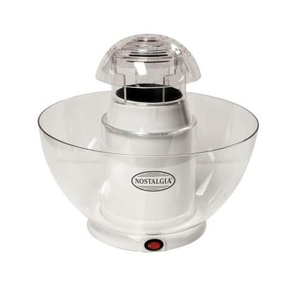 Pop-Cano 8-Cup Hot Air Popcorn Maker in White
