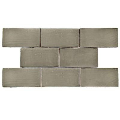 Chester Grey 3 in. x 6 in. Ceramic Wall Tile (1 sq. ft. / pack)
