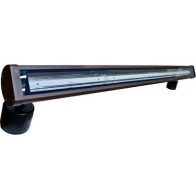 Flare 120-Light Bronze Outdoor LED Address Light