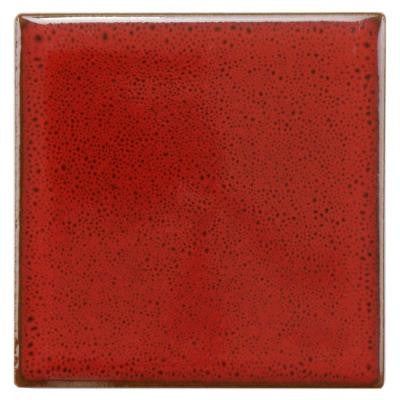 Essence Scarlet 4 in. x 4 in. Porcelain Floor and Wall Tile