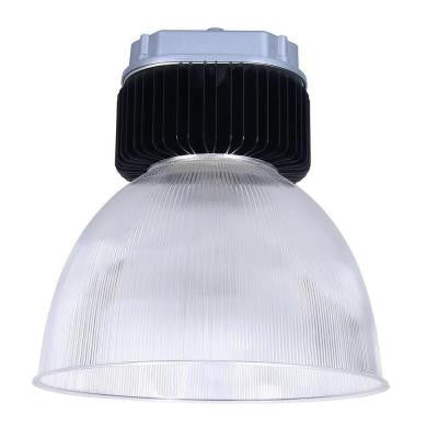 150-Watt Black LED Bell High Bay Ceiling Mount Fixture with Natural Light (5000K)