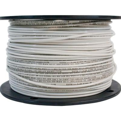 500 ft. 14 Stranded THHN Wire - White