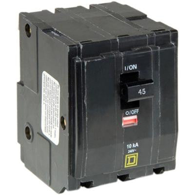QO 45 Amp 3-Pole Plug-In Circuit Breaker