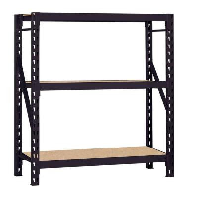 60 in. W x 66 in. H x 18 in. D Steel Commercial Shelving Unit