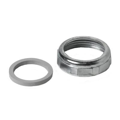 1-1/4 in. Slip Zinc Nut with Washer