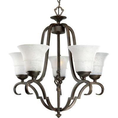 Melbourne Collection 5-Light Espresso Chandelier