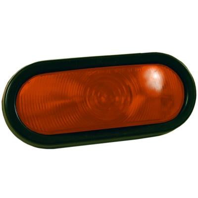 Park/Turn Signal 6 in. Oval Lamp Amber
