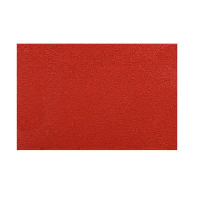 12 in. x 18 in. 60-Grit Sanding Sheet with StickFast Backing (5-Pack)