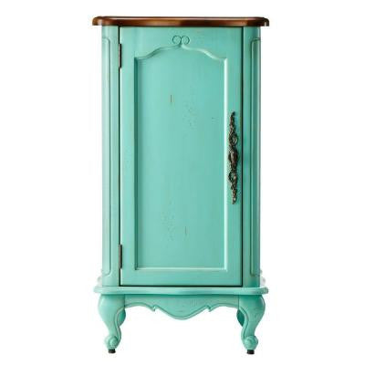 Provence 18 in. W Floor Cabinet in Blue