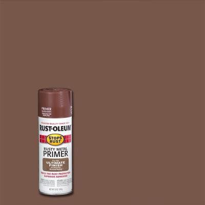 12 oz. Flat Rusty Metal Spray Primer