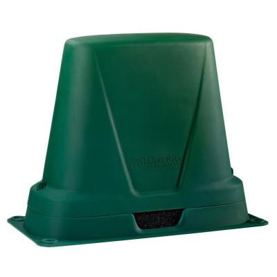 34 in. L x 16 in. W x 26 in. H Medium Long Plastic Two Piece Green Turf Backflow Cover