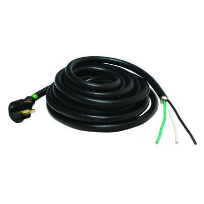 25 ft. 30 Amp Recreational Vehicle Non-Detachable Power Cord