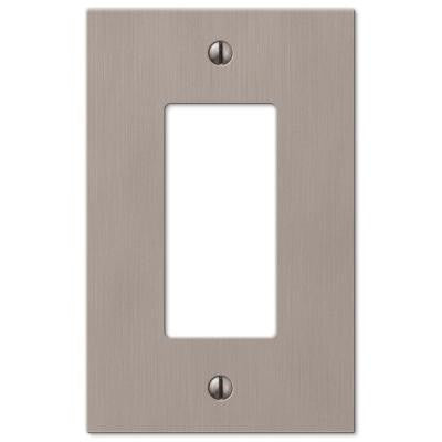Elan 1 Decora Wall Plate - Nickel