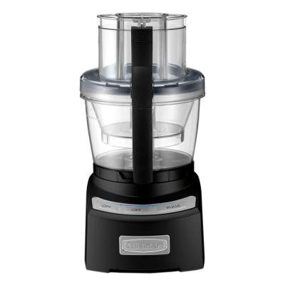Elite Collection 2.0 12-Cup Food Processor in Black