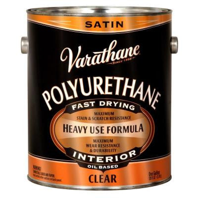 1 gal. Clear Satin 275 VOC Oil-Based Interior Polyurethane (Case of 2)