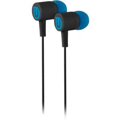Rubberized Ear Buds - Black