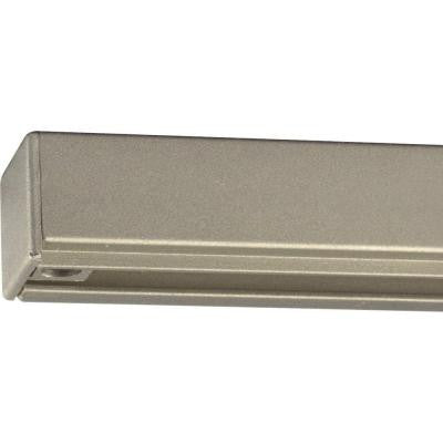Brushed Nickel 2 ft. Track Section