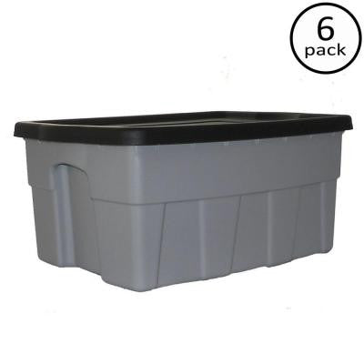8-Gal. Dura Box Storage Tote (6-Pack)