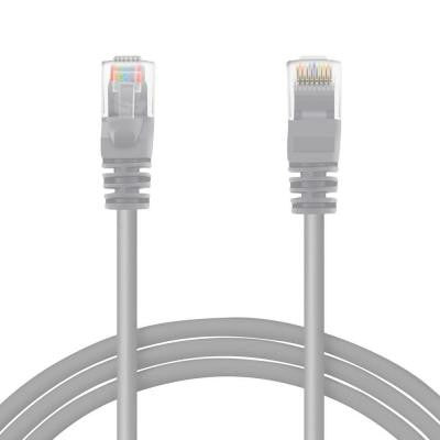7 ft. RJ45 Cat6 Ethernet LAN Network Patch Cable - Gray (8-Pack)