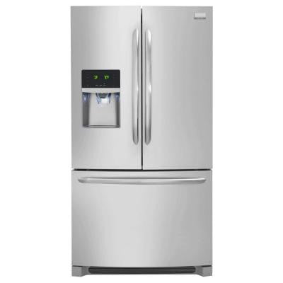 Gallery 21.93 cu. ft. French Door Refrigerator in Stainless Steel, Counter Depth