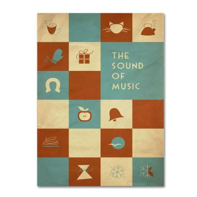 22 in. x 32 in. The Sound of Music Canvas Art