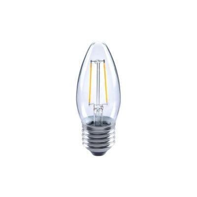 40W Equivalent Soft White B11 Filament Dimmable LED Light Bulb