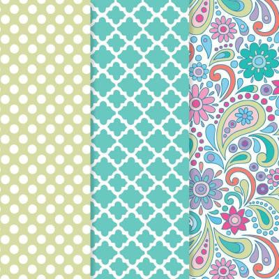12 in. x 16 in. Decou-Page Paper Paisley Punch (3-Pack)