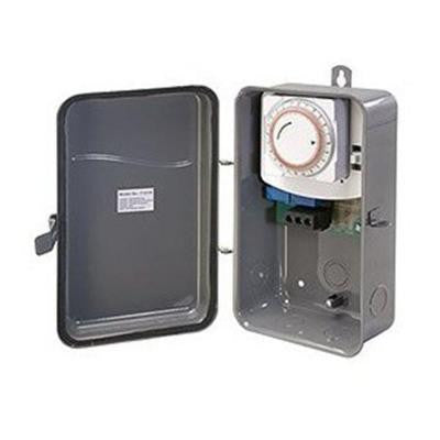 40 Amp 125-Volt Single Pole Single Throw Outdoor Mechanical Timer