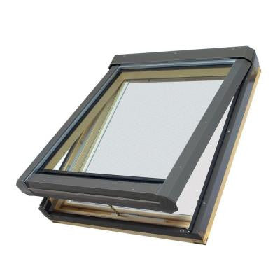 FV304L - 22-1/2 in x 37-1/2 in. Manual Venting Deck Mount Skylight with Laminated LowE Glass